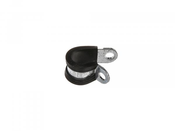 Pipe support clamp NORMAFIX RSGU.1 12/12, clamping range 12 mm - for fixing pipes, cables, cable harnesses, hoses etc.