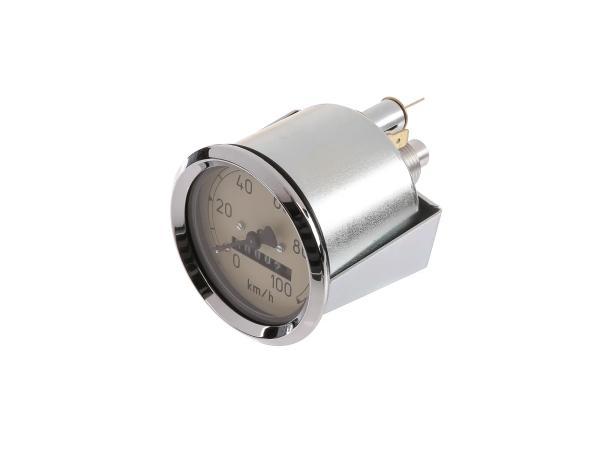 Speedometer Ø60 mm - for MZ RT125/1, RT125/2, RT125/3 - IWL SR56 Wiesel, SR59 Berlin