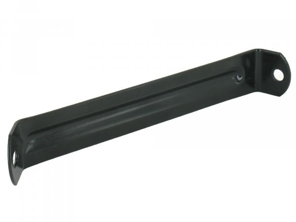 Support plate for license plate holder, black powder-coated - SR50, SR80