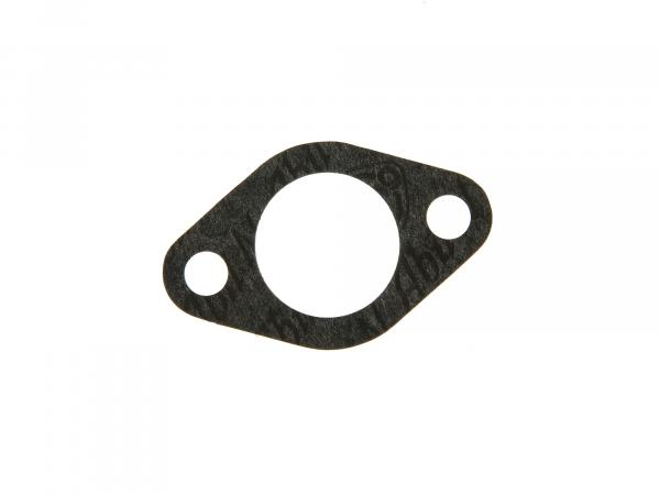 Gasket to carburettor flange - 0,5 mm thick, ø 30 mm - suitable for AWO 425S - (Brand: PLASTANZA / Material ABIL)