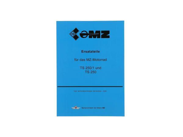 10003659 Ersatzteilkatalog - MZ TS 250/1, TS250 - Bild 1