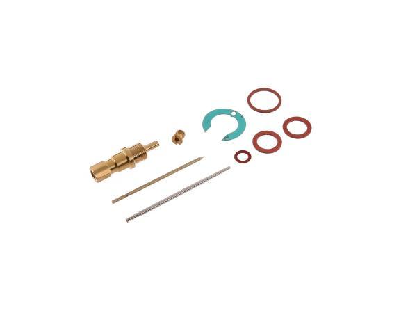 Repair kit for carburetor (9-piece, NB20, flat slide) - for IWL Pitty, SR56 Wiesel