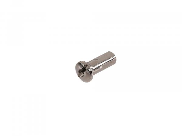 spoke nipple M4 nickel-plated - for MZ ETZ, TS, ES, AWO, RT125, BK350, EMW R35