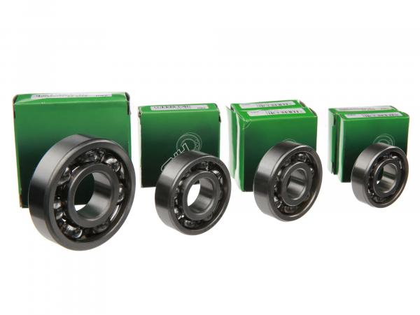 Set: Ball bearing motor + gearbox, 5 pieces - BK350