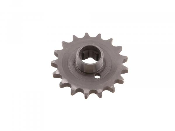 Sprocket on gearbox 17 teeth ES 175/2, ES 250/2