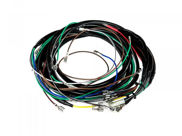 Cable harness set, basic equipment without wiring diagram - Simson S50, S51, S70