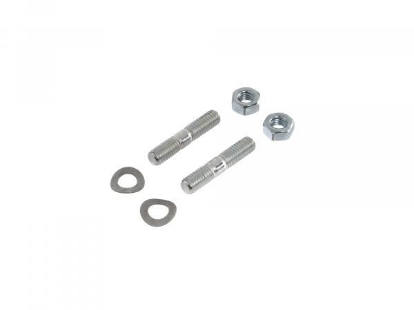 Set: screws, nuts for carburettor flange S50, S51, S70