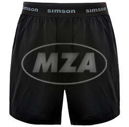 10070760 Boxershort, Farbe: schwarz, Größe: S - Motiv: SIMSON - Bild 1