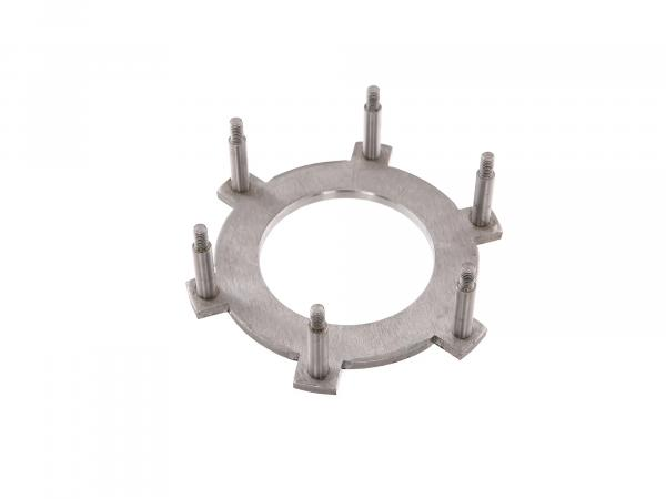 Pressure plate with spacer bolt (coupling) ETZ250, ETZ251, ETZ301, TS250, TS250/1, ES175/2, ES250/2, ETS250
