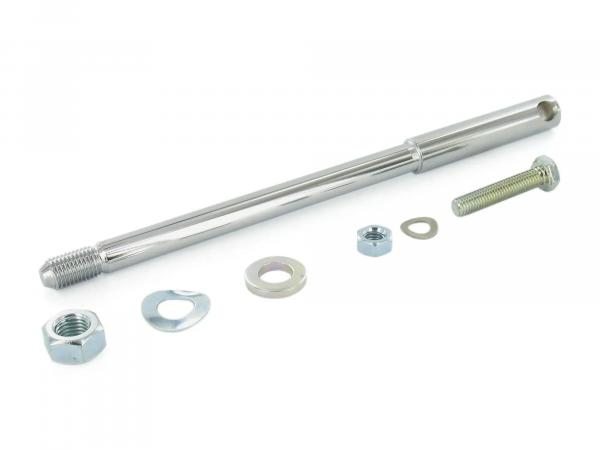 Set: thru axle for fork rails S50, S51, S70, SR50, SR80