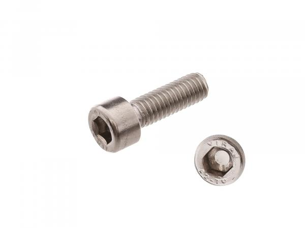 Hexagon socket head cap screw, stainless steel M6x18 - DIN912VG