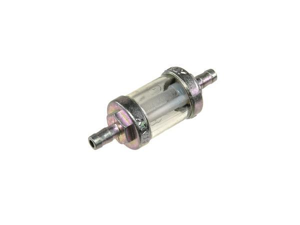 10068284 Leitungsfilter massiv Ø6mm für Benzinschlauch - Simson S50, S51, SR50, KR51 Schwalbe, SR4 u.a. - Bild 1
