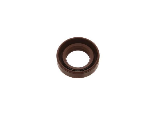Oil seal 20x35x10, brown, dust lip - BK350