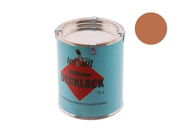 Paint 2K Leifalit beaver brown - 1Liter