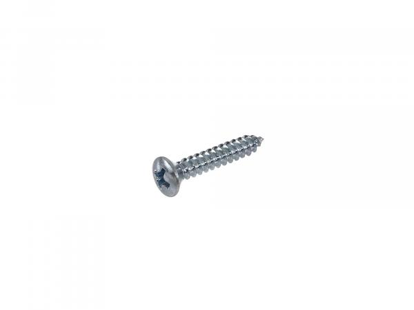 Oval countersunk-head tapping screw, cross-slotted 3.9x22 - DIN7983