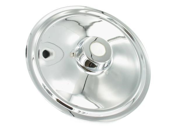 Wheel hub cover chrome BK 350