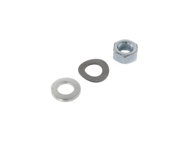 Standard parts set for front axle - for Simson S50, S51, S70, KR51/1 Schwalbe, KR51/2, SR4-2 Star, SR4-3 Sperber, SR4-4 Habicht