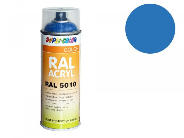 Dupli-Color Acryl-Spray RAL 5012 lichtblau, glänzend - 400 ml
