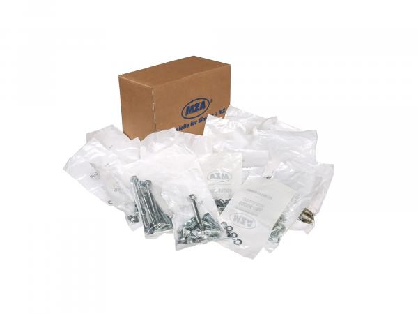 Set: Screws universal for complete vehicle S51, S70