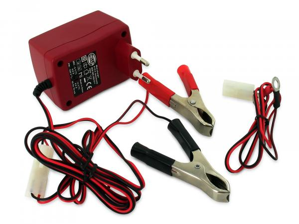 Charger for battery 6V -12 Volt from Hella (for 4 - 15Ah)