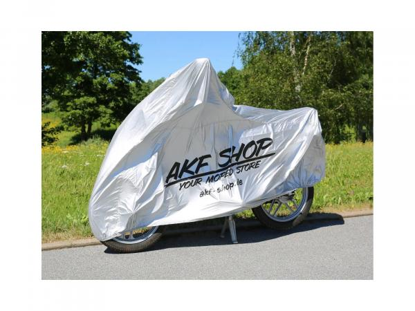 "Tarpaulin ""AKF"" for moped - grey"