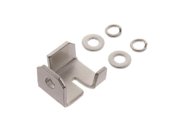 10067914 Set: Schließhaken Werkzeugkastenschloss - für Simson S50, S51, S70 - Bild 1