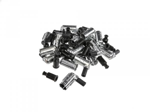 Set: 20x plug connector BERU, 1K-Ohm, waterproof, 90° angled