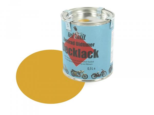 Lacquer paint 2K Leifalit Sahara brown 1 (daffodil yellow) - 500ml