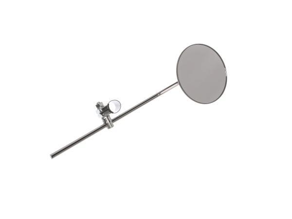 Spiegel - rund, Stabspiegel mit Befestigungsschelle* Ø22mm passend für AWO