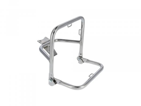 Chrome-plated luggage carrier for ES175, ES175/1, ES250, ES250/1, ES300 (behind seat)