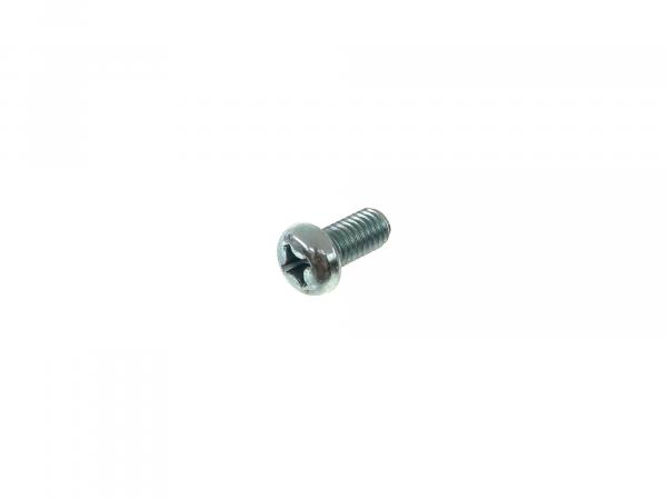 Oval head screw, cross recess M6x12 - DIN7985