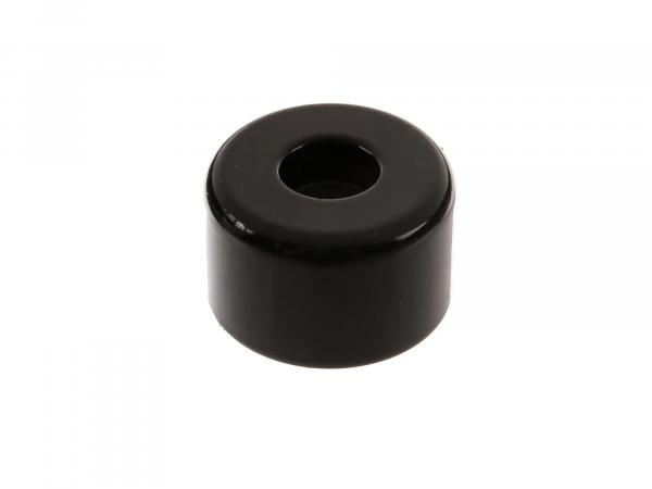 Vibration absorber outside, traffic black - handlebar weight - Schikra 125 / SIMSON 125 RS
