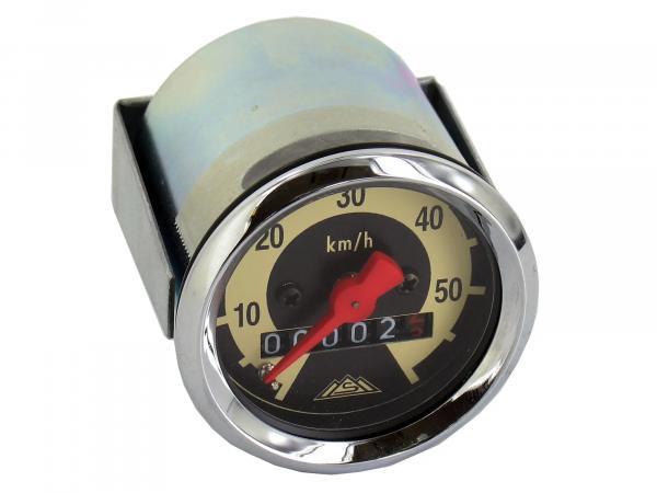 Speedometer SR2E, SR4-1, KR50, Ø48mm, 60-km/h-Version