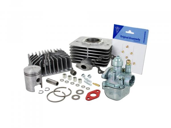Set: cylinder 63ccm + piston + head + BVF 16N1 - for Simson S50