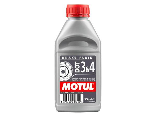 MOTUL DOT 3+4 Brake Fluid - Bremsflüssigkeit - 0,5 Liter