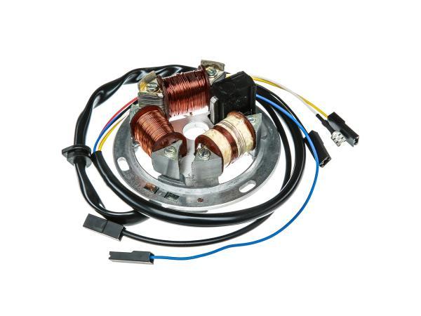 Grundplatte 8305.2-100, 12V Elektronik, 42/21W Bilux - Simson SR50, SR80