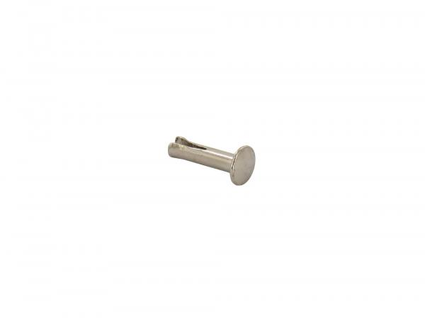 Split rivet 3,7x16 (ZN5/16) nickel plated - Simson Saddle