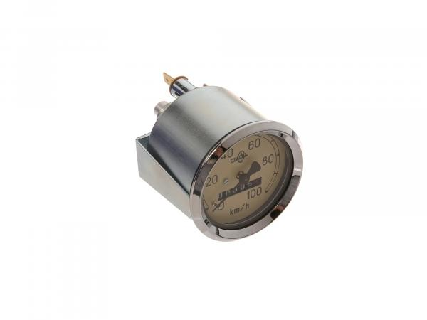 Tachometer MESTRA, 100 Km/h, AS 60mm - IWL Pitty, SR56 Wiesel, SR59 Berlin