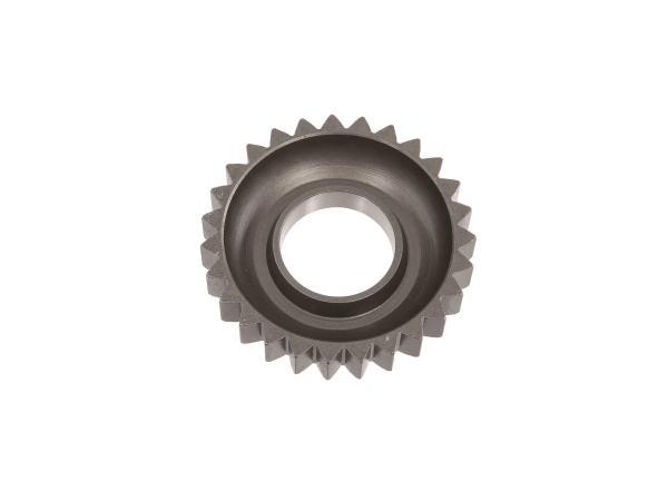 Kick starter wheel - MZ ES125, ES150, ETS125, ETS150, TS125, TS150, ETZ125, ETZ150 - IWL TR150 Troll