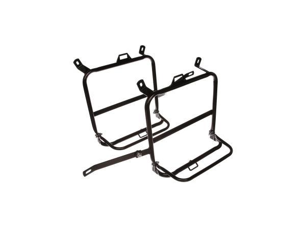 Set: Seitengepäckträger, rechts + links, schwarz - MZ ETZ250