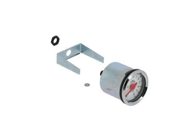 10070518 Mechanischer Drehzahlmesser Ø48mm, Gehäuse mit Lichtschlitz - Bild 1
