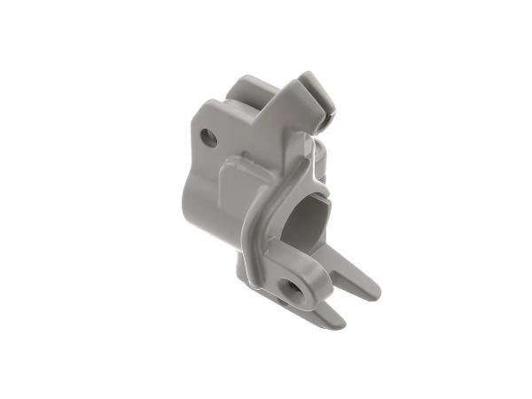 Clamping piece in grey for aluminium clutch lever - Simson KR51/1 Schwalbe, KR51/2 Schwalbe, SR4-2 Star, SR4-3 Sperber, SR4-4 Habicht