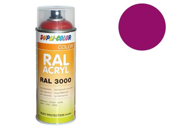 Dupli-Color Acryl-Spray RAL 4006 verkehrspurpur, glänzend - 400 ml