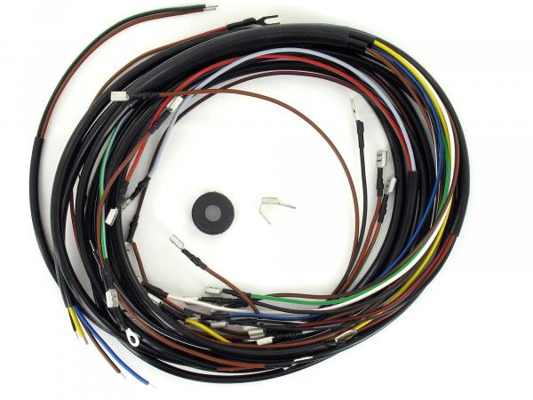 Cable harness set Sperber SR4-3, Habicht SR4-4, 12V-VAPE with wiring diagram