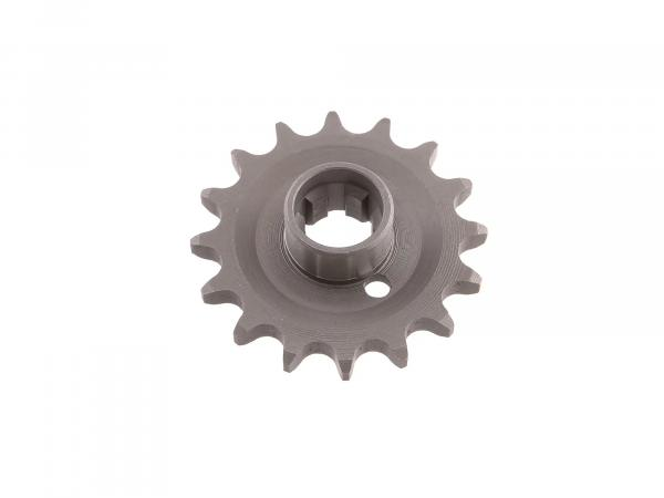 Chain wheel on gearbox 16 teeth for sidecar operation TS 250/1