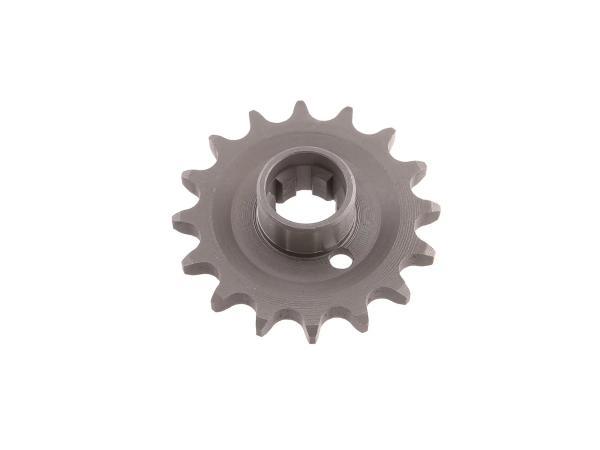 Kettenrad am Getriebe 16 Zähne für Seitenwagenbetrieb TS 250/1