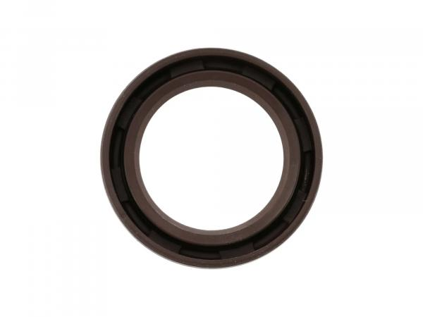 Oil seal 25x37x07, brown - for MZ ES175, ES250, ES300 - BK350