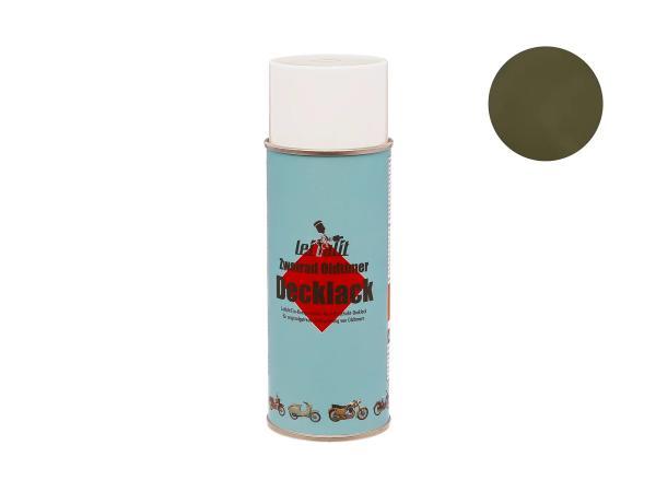 Spraydose Leifalit Decklack Olivgrün, matt, für NVA Modelle - 400ml