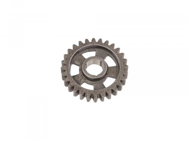 Gear wheel for 1st gear (28 teeth) - MZ ES125, ES150, ETS125, ETS150, TS125, TS150 - IWL SR59 Berlin, TR150 Troll