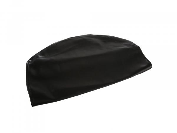 Seat cover smooth, black without lettering - Simson S53, S83, SR50, SR80